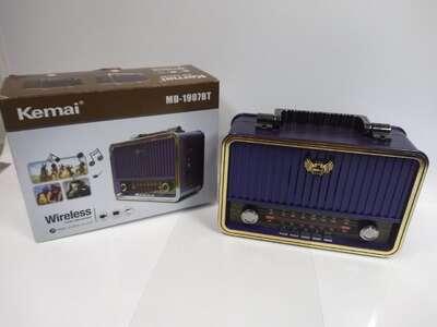 Радиоприемник Kemai MD-1907BT USB, microSD, Bluetooth б/у