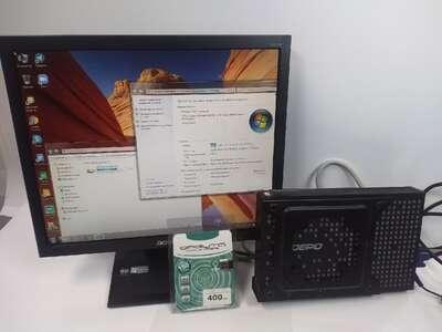 Неттоп Depo (SSD60gb/4gb/intel D525/Win7) б/у