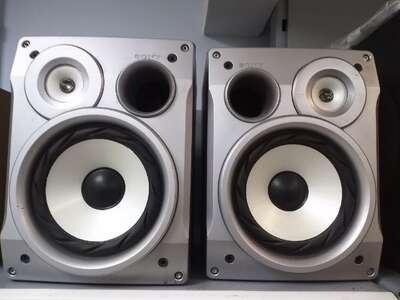 Колонки музыкального центра Sony HCD-Cl1 б/у