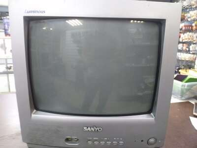 ЭЛТ телевизор Sanyo CE14SA4R б/у