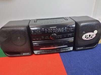 Музыкальный центр Sharp WF-930Z б/у