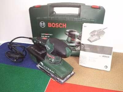 Вибрационная шлифмашина Bosch PSS 200 AC, 200 Вт б/у