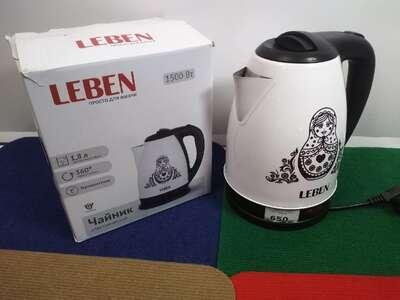 Чайник Leben 291-058 б/у